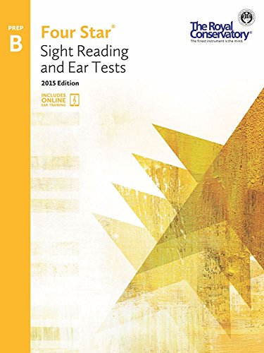 4S0B - Royal Conservatory Four Star Sight Reading and Ear Tests Level Prep B Book 2015 Edition