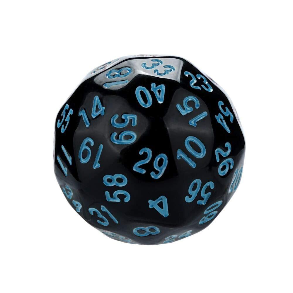 UEVOS DE Jeu Donjons /& Dragons Durables Et R/ésistants Appliqu/és Depuis Longtemps Facile /à Lire Polyhedral D60 Multi Face Acrylic Dice 1pcst