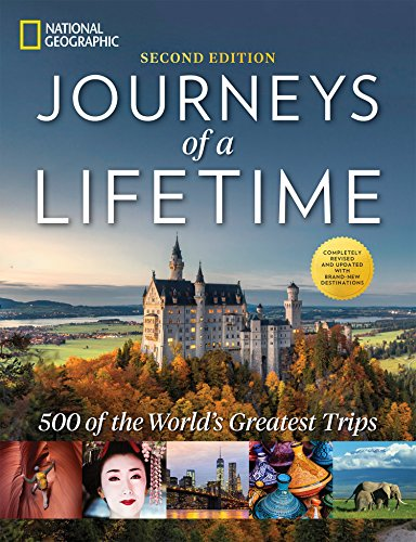 51aWJQsd5aL - Journeys of a Lifetime, Second Edition: 500 of the World's Greatest Trips