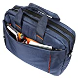 AmazingHind 14-Inch Laptop Messenger Shoulder Bag for Business, Traveling, College and Office Use (14' Laptop | Blue)