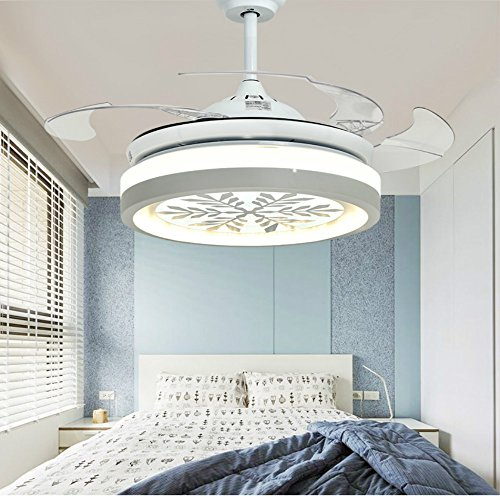 Huston Fan 42 Inch Ceiling Fan With Remote Control And Retractable Blades (Ceil Finish Kit)