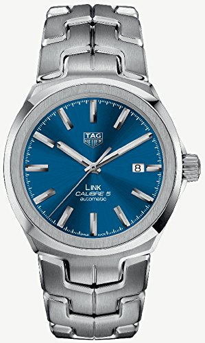 Tag Heuer Link Automatic Blue Dial Mens Watch WBC2112.BA0603 (Tag Mens Link Heuer)
