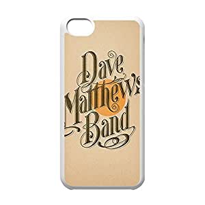 Classical Style Case with Dave Matthews lip Lightweight Plastic Protective Back Cover has for iPhone 5C a -White031112 and