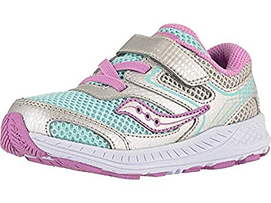 64e70c01 Amazon.com | Saucony Kids Baby Girl's Cohesion 12 Jr (Toddler) | Shoes