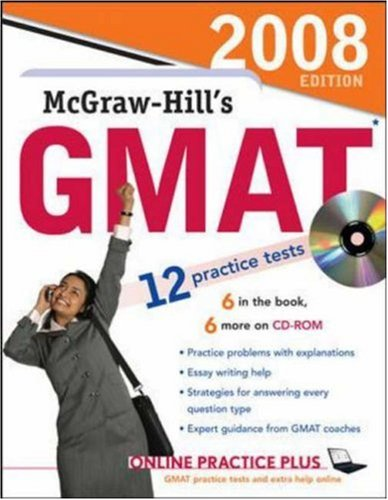 McGraw-Hill's GMAT with CD, 2008 Edition (Book & CD Rom)