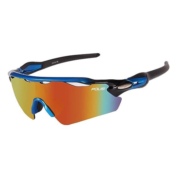 Amazon.com: Gafas de sol polarizadas deportivas para hombres ...
