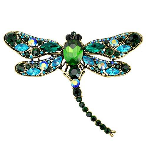 Antique Dragonfly Brooch - 1