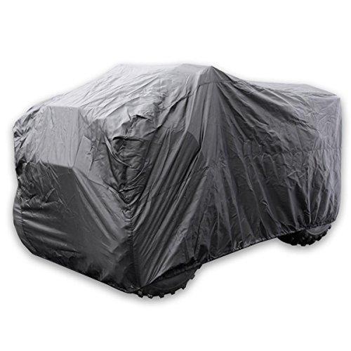 Tek Kwik Cover Atv - Kwik Tek ATVC-B ATV Cover - Black - XL