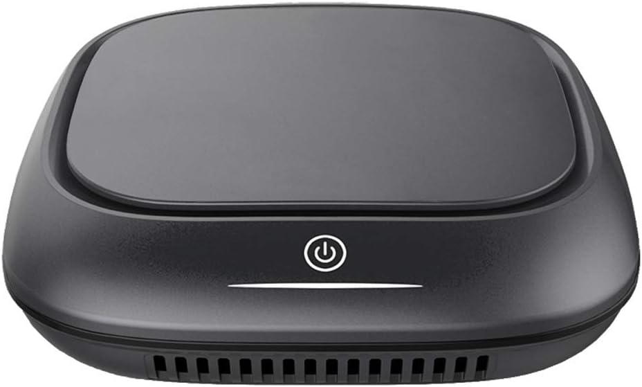 Y&Jack Purificador de Aire Real Hepa Filter, Desktop Smell Allergy ...