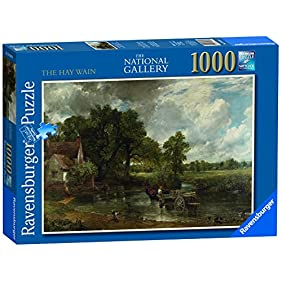 The National Gallery - The Hay Wain 1000 Pieces - Puzzle - Ravensburger