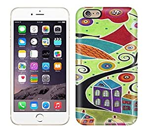 Tpu Case Cover For Iphone 5s Strong Protect Case - Great Folk Art Paintings! Design