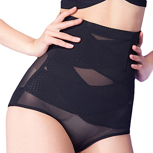 Vococal - Traspirante Super Sottile A Vita Alta Intimo Modellante Shapewear per Yoga Post-partum Addome Corpo Shaper Corsetto Dimensioni XXXL