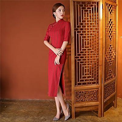 09a773642c44a (上海物語)Shanghai Story 民国衣装 中華風 結婚式 披露宴 ストライプ柄 パーティ