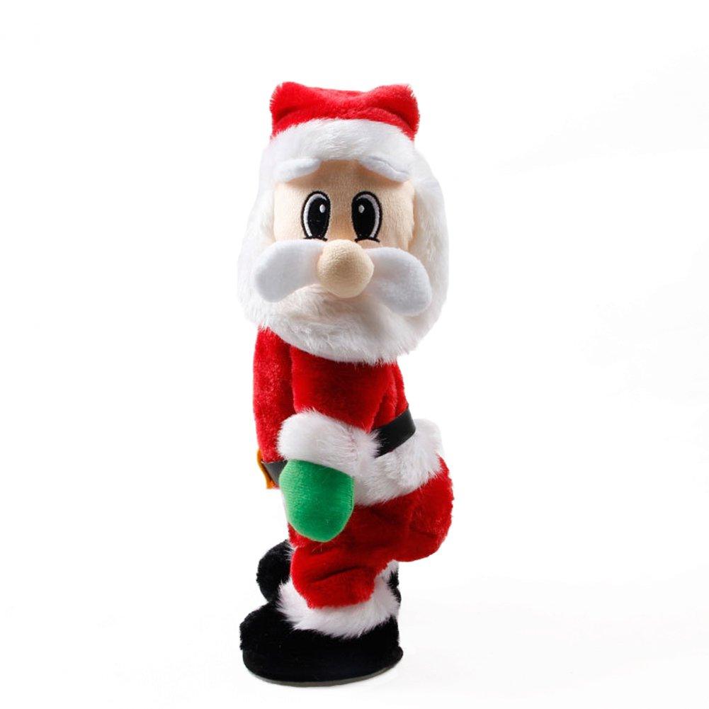FHD Weihnachten Weihnachtsmann Figur Twisted Hip Twerking Singen ...