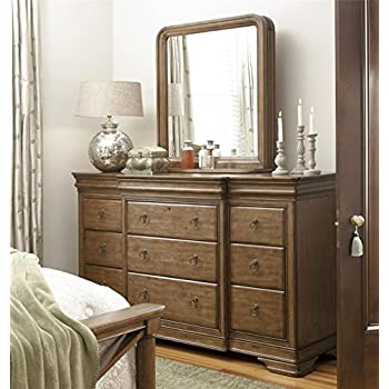 pennsylvania house solid wood triple dresser with storage mirror kitchen dining. Black Bedroom Furniture Sets. Home Design Ideas