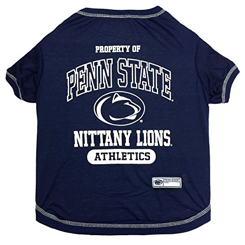 NCAA Penn State Nittany Lions Dog T-Shirt, X-Large