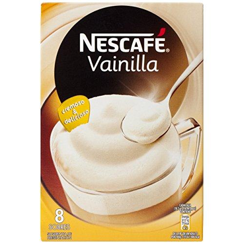 NESCAFÉ Café Vainilla, Caja de sobres, 8 Paquetes de 8 Sobres de Café - Total: 64 Sobres: Amazon.es: Alimentación y bebidas