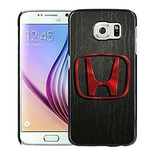 Newest and Fashionable Case Honda logo Black Phone Case for Samsung Galaxy S6 Kimberly Kurzendoerfer