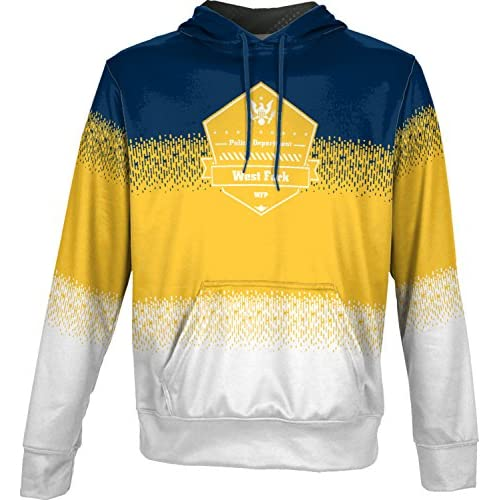 ProSphere Boys' West Fork Police Department Drip Hoodie Sweatshirt (Apparel) big discount