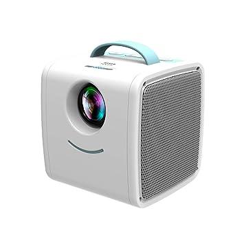 Y&J Proyector portátil, Soporte para Lectura de Disco U ...