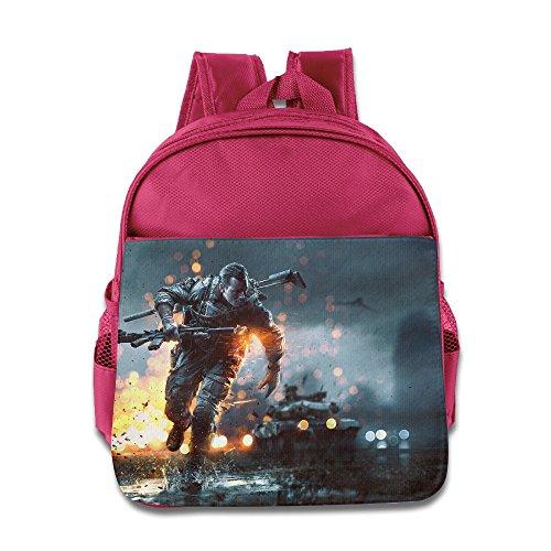 MoMo Unisex Battlefield 4 Poster Boy Girl Lunch Bag For Little Kids