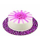Wilton 2104-1337 Cake Board, Leopard Pink