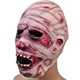 MISENSE Halloween Horror Mask Party Decorative Props Mummy Zombie Mask