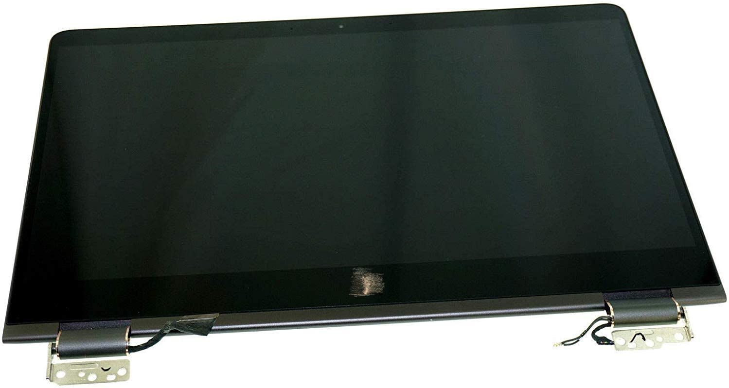 """New For HP Spectre X360 15-BL 15T-BL 15T-BL100 15-BL108CA LCD Screen Replacement 15.6"""" UHD 4K (3840x2160) IPS LED Display + Touch Digitizer + Cover Hinges Cable Complete Full Assembly"""
