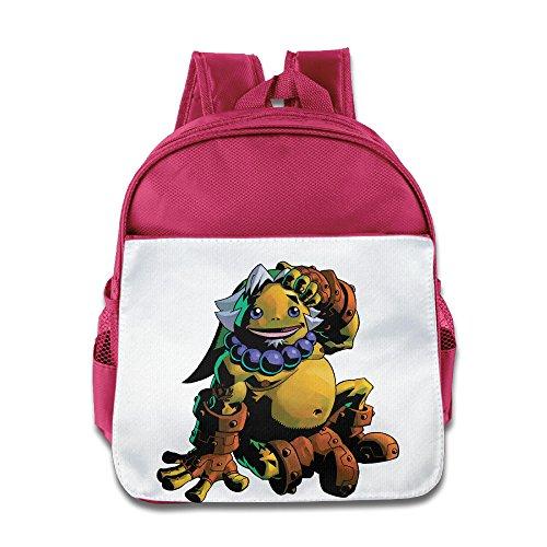 Price comparison product image JXMD Custom Superb The Legend Of Zelda Kids School Backpack For 1-6 Years Old Pink