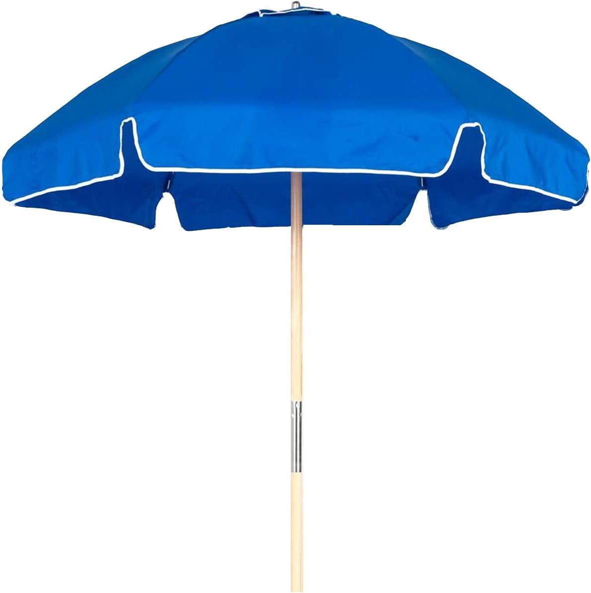 6.5 Shade Star Beach Umbrella Color Pacific Blue