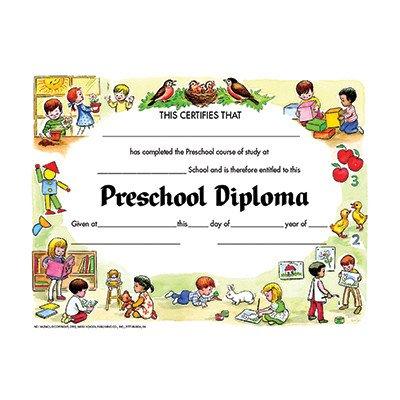 Diplomas Preschool Certificate (Set of 30) [Set of 2]]()