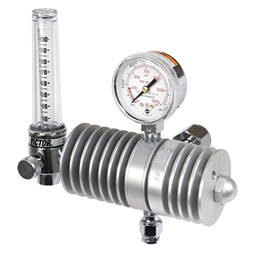 Victor Technologies 0781-0353 SR-311 Flow Meter Carbon Dioxide Regulator, 25-100 psig Delivery Range, CGA 320 Inlet Connection