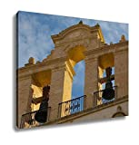 Ashley Canvas, Bells At Seville Cathedral At Sunset Spain, Home Decoration Office, Ready to Hang, 20x25, AG6376912