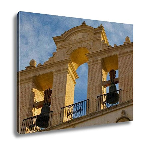 Ashley Canvas, Bells At Seville Cathedral At Sunset Spain, Home Decoration Office, Ready to Hang, 20x25, AG6376912 by Ashley Canvas