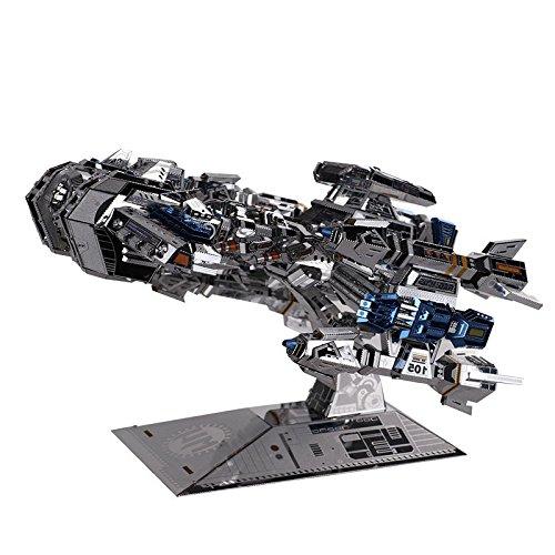 Best buy MU DIY Jigsaw Puzzle 3D Metal Stainless Steel Machine Model