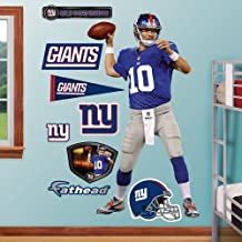 Fathead 12-20994 Wall Decal, Eli Manning Home