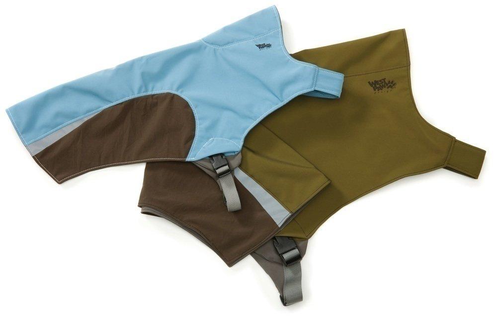 West Paw Design Cloudburst Dog Jacket, XX-Small, Moss Green