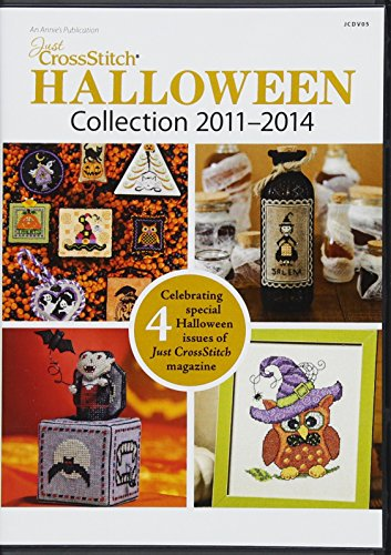 Just CrossStitch Halloween Collection 2011-2014 CD -