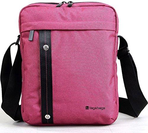 tagsbags Bolso bandolera, rosa (Raspberry) (Rosa) - 1041