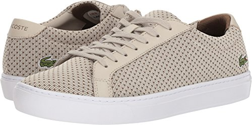 Lacoste Men's L.12.12 Lightweight Sneakers Natural/Brown low cost cheap price sale for nice 0apVOieEt