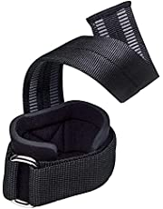 1 Pair Lifting Straps Neoprene Padded Wrist Supports Assist Grip Strength Straps