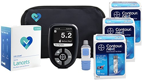 949 Bayer Contour Next Ez Blood Glucose Monitoring System No