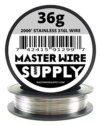 Stainless Steel 316L - 2000' - 36 Gauge Wire