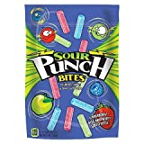 Sour Punch, Bites, Assorted Flavors, 9-Ounce Bag (Pack of 4)