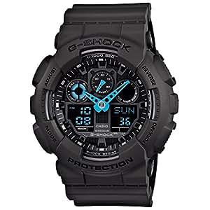 Casio Mens G SHOCK Analog-Digital Sport Quartz Watch NWT GA-100C-8A