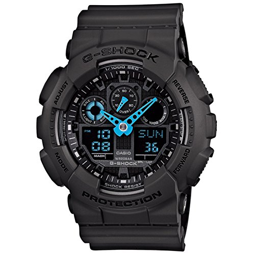 Casio SHOCK Analog Digital Quartz GA 100C 8A