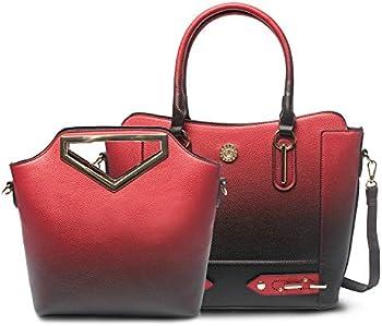 Hi-Na Women's Purses and Handbags Set