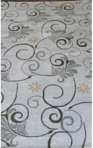 Safavieh Soho Collection SOH220A Handmade Grey and Multi Premium Wool Area Rug 7 6 x 9 6