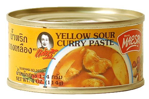 Maesri Yellow Sour Curry Paste