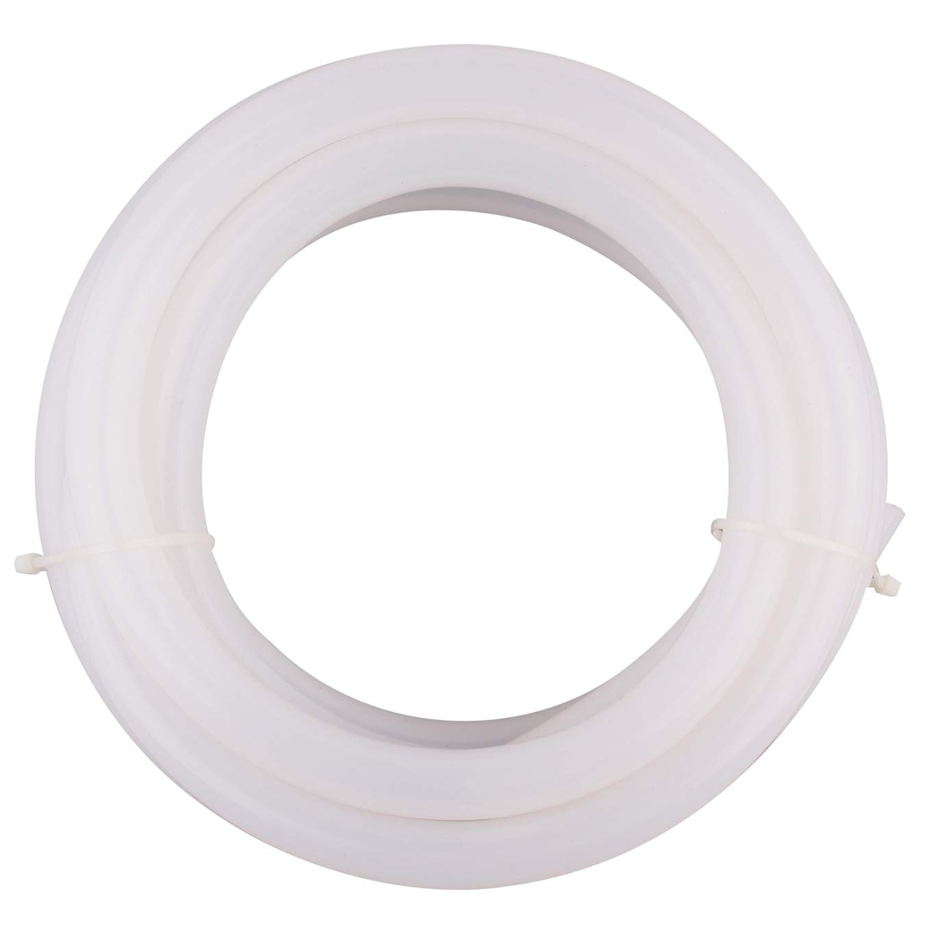 DERPIPE Silicone Tubing - 3/8'' ID 5/8''OD Food Grade Flexible Thick for Homebrewing Pump Transfer 3 Meters(10ft) Length